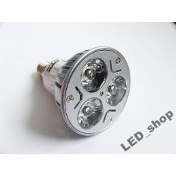 Żarówka LED NEXTEC E14JDR 3x1W 200lm 230V Ciepły
