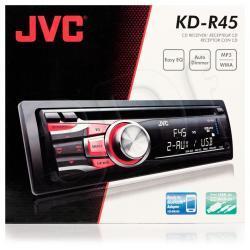 Radioodtwarzacz samochodowy JVC KD-R45
