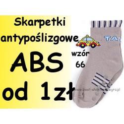 Skarpetki antypoślizgowe ABS-M Yo wyprzedaż w-66