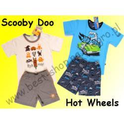Piżama CORNETTE Hot Wheels Scooby Doo KRÓT 98/104