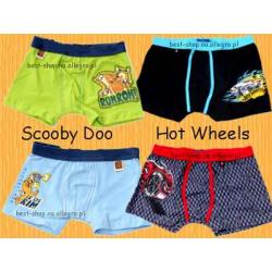 Szorty Scooby Hot Wheels bokserki CORNETTE 146/152