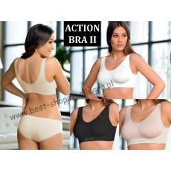 Biustonosz fitness ACTION BRA 2 jony srebra 06-156