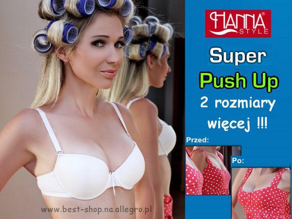 Biustonosz SUPER Push Up 01-63 Hanna Style 75B na Bazarek.pl 7512b13cc