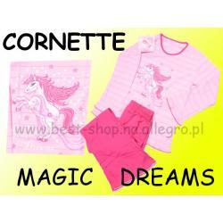 Piżama długi rękaw Cornette MAGIC DREAMS r 122/128