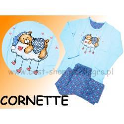 Piżama długi rękaw Cornette SLEEPING BEAR 122/128