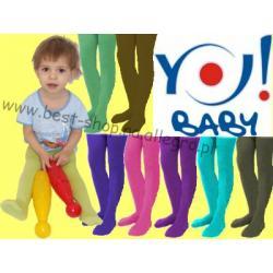 YO! Rajstopy dzieciece mikrofibra roz 80-86 YORKER