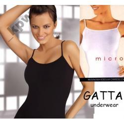 GATTA koszulka CAMISOLE 46-48 czarna / biała - XL