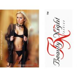 Cristen komplet Beauty Night Fashion czarny S/M