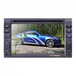 Stacja multimedialna 2 DIN 4x50W MOSFET TV/MP3/MP4/DIVIX/USB/SDHC/DVD Bt i GPS, Peiying PY9902...