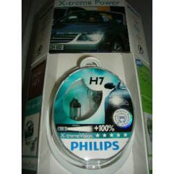 PHILIPS zestaw żarówek halogenowych H7 55W 12V X-TREMEVISION 2szt.