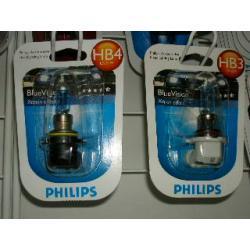 PHILIPS żarówka halogenowa HB3 60W 12V BlueVision 1szt.