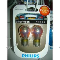 PHILIPS PY21W 12V SilverVision 2szt. - żarówka pomarańczowa Warszawa Bemowo