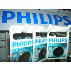 PHILIPS bateria CR2032 lub CR2025 lub CR2016 3V