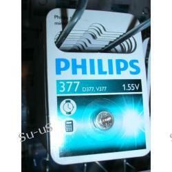 PHILIPS bateria srebrowa 377 1,55V silver minicell D377 V377