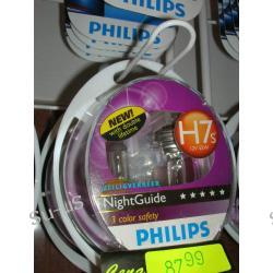 PHILIPS 2x H7 55W 12V do soczewek Night Guide żarówka halogen