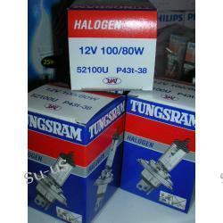 TUNGSRAM RALLY  H4 100/80W 12V P43t-38 żarówka halogen RAJDOWA MOCNA!!!