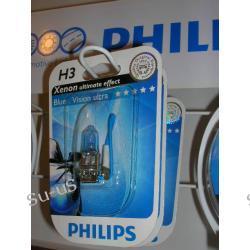 PHILIPS H3 55W 12V Blue Vision Ultra żarówka halogen 1szt.
