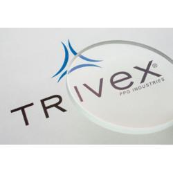 Szkła Trivex, sferyczne indeks 1.53 (15% cieńsze) z antyrefleksem AR Cyprys. Okulary