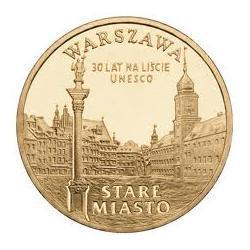 Moneta 2 zł-Warszawa Stare Miasto