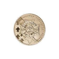 Moneta 2 zł-100.Rocznica Harcerstwa Polskiego
