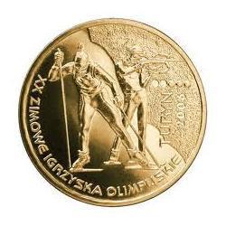 Moneta 2 zł- XX Zimowe Igrzyska Olimpijskie-Turyn 2006