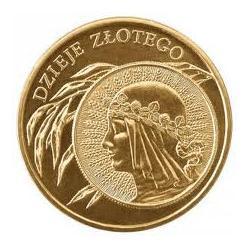 Moneta 2 zł-Dzieje złotego