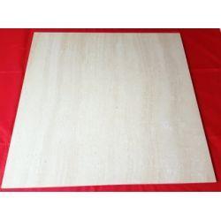 HT 2146 GRES POLEROWANY (TRAWERTYN) 6060 cm Płytki podłogowe