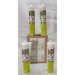 BOTAMENT S 5 SUPAX silikon sanitarny 300 ml Płytki podłogowe