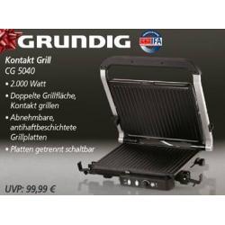 GRILL ELEKTRYCZNY OPIEKACZ GRUNDIG MODEL CG5040