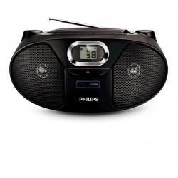 RADIOODTWARZACZ CD BOOMBOX PHILIPS AZ382 USB MP3