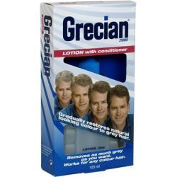 GRECIAN 2000 LOTION + CONDITIONER 125ml - odsiwiający płyn do włosów z odżywką  Peeling