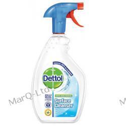 DETTOL 500ml - Benckiser Dettol Antybakteryjny spray do mycia powierzchni i dezynfekcji Peeling