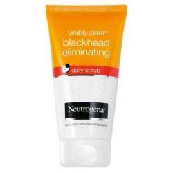 NEUTROGENA Visibly Clear Blackhead Eliminating Daily Scrub - peeling zluszczajacy do mycia twarzy podatnej na zaskorniki - 150ml