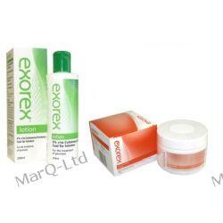 ZESTAW EXOREX (duzy) na łuszczycę - LOTION 250ml + CREAM 250g +3% rabat ! Leki bez recepty i dermokosmetyki