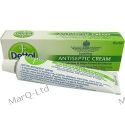 DETTOL Krem (30g) -  Antyseptyczny na infekcje, leczenie w procesie gojenia ran, odparzen, użądlen itp. Łuszczyca