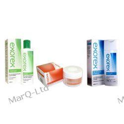 ZESTAW EXOREX na łuszczycę - LOTION 250ml + CREAM 250g + Hair & Body SHAMPOO 250ml + 10% RABAT Leki bez recepty i dermokosmetyki