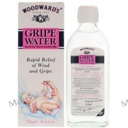 GRIPE WATER Woodward's - (bez pudelka) Woda Koperkowa na kolki dla niemowlat 150ml