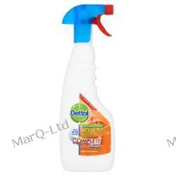 DETTOL 440ml - Benckiser Dettol Kitchen Antybakteryjny spray do mycia powierzchni i dezynfekcji - potrojna sila ! Zdrowie i higiena