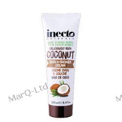COCONUT Bath & Shower Cream - krem do kapieli i pod prysznic z organicznym olejem kokosowym - 250ml Pozostałe