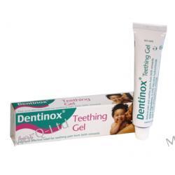 DENTINOX Teething Gel 10g - usmierzajacy żel na zabkowanie (bez cukru) - KUP 2+1 GRATIS Pielęgnacja zębów