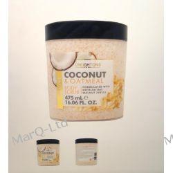 COCONUT Body Scrub - peeling do ciala z platkami owsianymi i olejem kokosowym - 475ml