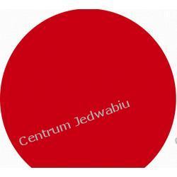 TAFTA DUPIONI - szminkowa czerwień w cieniu - szer. 140 cm Jedwab naturalny