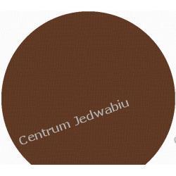 SZANTUNG ŚREDNI- gorzka czekolada z 1 kroplą kakao - szer. ok. 135 cm Jedwab naturalny