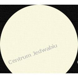 ORGANZA 1-tonowa - biel kremowa - szer. ok 135 cm Jedwab naturalny