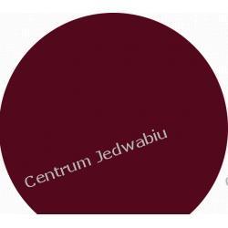 WELUR LITY 1-tonowy - ciemny burgund - szer. 140 cm Jedwab naturalny