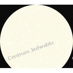 WELUR 'WYPALANY' - biel śmietankowa - szer. 114 cm Jedwab naturalny
