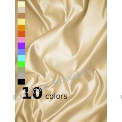 SATYNA-TAFTA DUCHESSE - 49% jedwab 51% rayon na suknie ślubne balowe kreacje Jedwab naturalny
