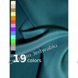 KREPA CIĘŻKA 100% jedwab na eleganckie suknie spodnie spódnice kostiumy garnitury