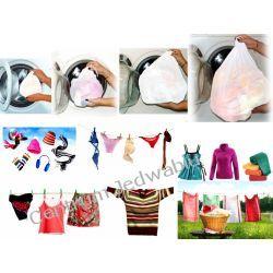 M02 KOMPLET 4 SIATEK DO PRANIA wszytkie potrzeby prania Jedwab naturalny