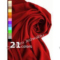 KREPA GRUBA 100% jedwab na proste sukienki spódnice spodnie kostiumy Tkaniny